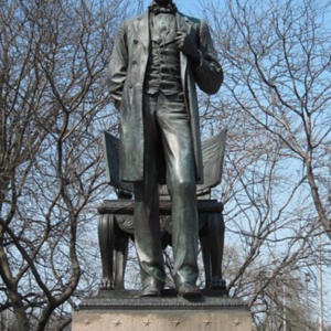 Standing Lincoln